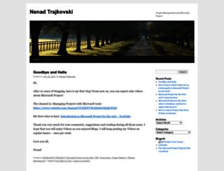 ntrajkovski.wordpress.com screenshot