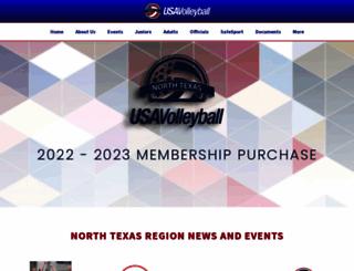 ntrvolleyball.net screenshot