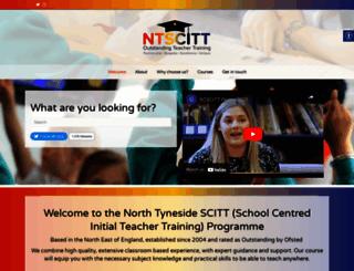 ntscitt.org.uk screenshot