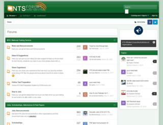 ntsforums.com screenshot