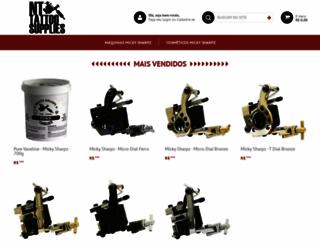 nttattoosupplies.com.br screenshot