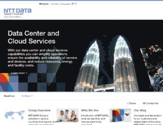 nttdata.com.my screenshot