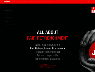 ntuc.org.sg screenshot