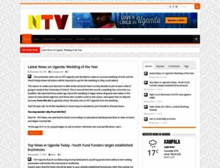 ntvuganda.co.ug screenshot