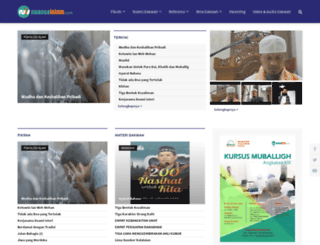nuansaislam.com screenshot