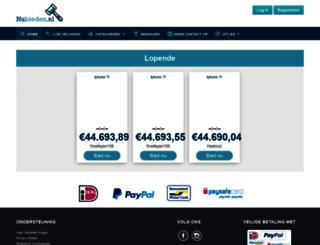 nubieden.nl screenshot