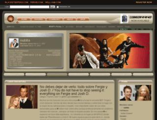 nubita.blackeyedpeas.com screenshot