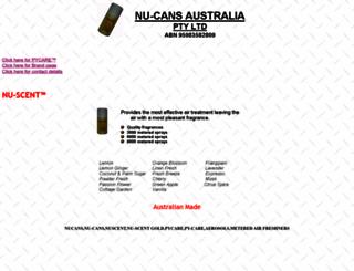 nucans.com.au screenshot