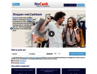 nucash.be screenshot
