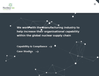 nuclearcomplianceconsultants.com screenshot