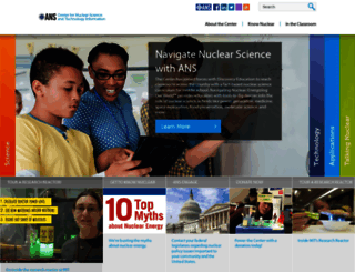 nuclearconnect.org screenshot
