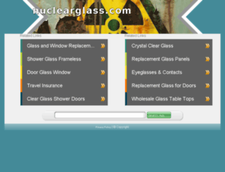 nuclearglass.com screenshot