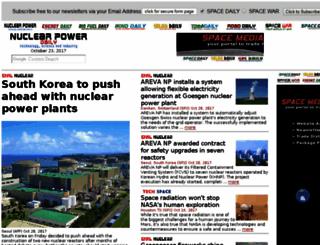 nuclearpowerdaily.com screenshot