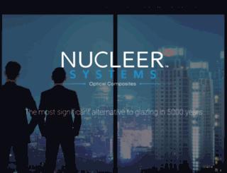 nucleer.com screenshot