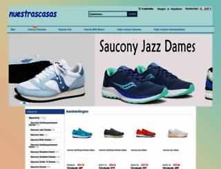 nuestrascasas.com screenshot