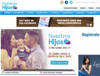 nuestroshijos.com.do screenshot