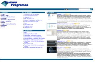nuevos-programas.com screenshot