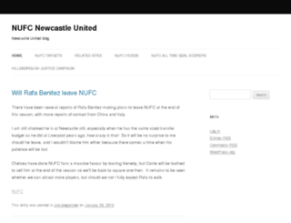 nufc.biz screenshot