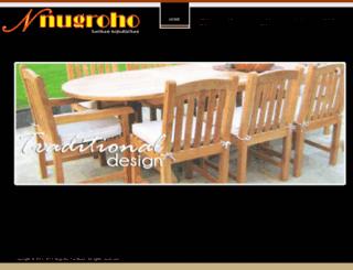 nugrohofurniture.com screenshot