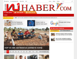 nuhaber.com screenshot