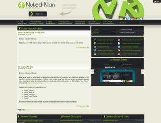 nuked-klan.org screenshot