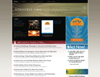 nukefree.org screenshot