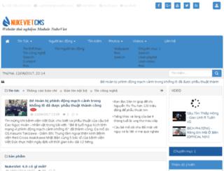 nukeviet-hvt.rhcloud.com screenshot