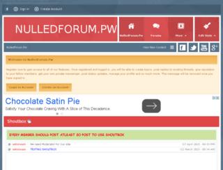nulledforum.pw screenshot