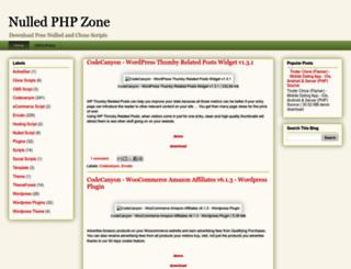 nulledphpzone.blogspot.com.br screenshot