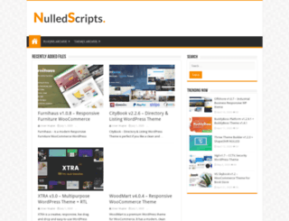 nulledscripts.net screenshot