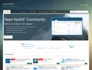 nullxf.com screenshot