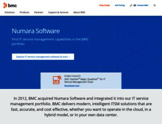 numarasoftware.com screenshot