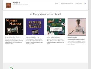 number-it.com screenshot