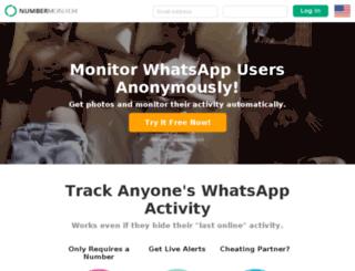 numbermonitor.com screenshot