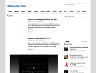 numberof.net screenshot