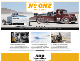 numberone-magazine.ch screenshot