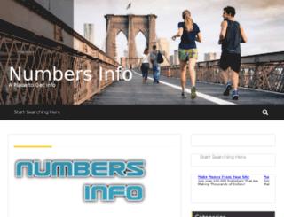 numbersinfo.jogati.com screenshot