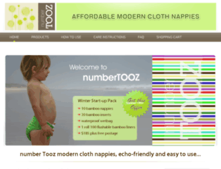 numbertooz.com.au screenshot