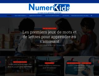 numerikids.com screenshot