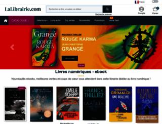 numerique.lalibrairie.com screenshot