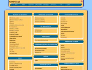 numerologie.allepaginas.nl screenshot