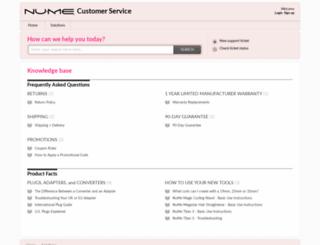 numestyle.freshdesk.com screenshot
