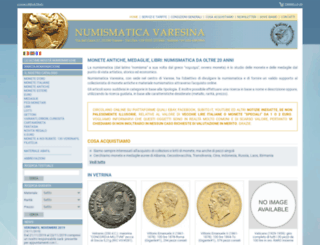 numismaticavaresina.it screenshot
