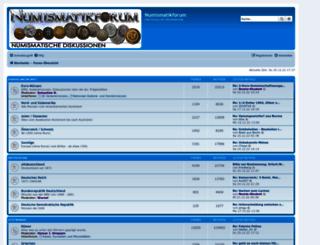 numismatikforum.de screenshot