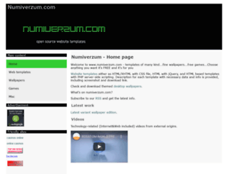 numiverzum.com screenshot