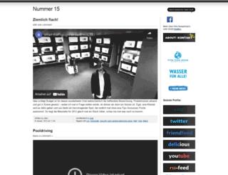 nummer15.wordpress.com screenshot