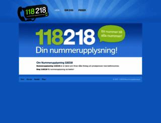 nummerupplysning.se screenshot