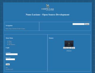 nunoluciano.info screenshot