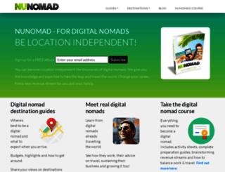 nunomad.com screenshot