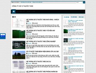 nuocthai-congnghiep.blogspot.com screenshot